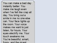 {sweet text messages }