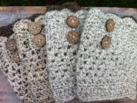 I love to crochet boot cuffs & leg warmers