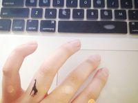 Teeny Tiny Tattoos