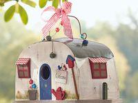 cute different birdhouse