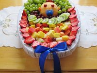 baby shower fruit trays