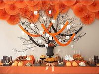 halloween decorations and parties