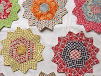 Hexagon, English paper piecing and other stuff for enjoying hand sewing