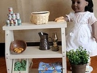 AG doll furniture and storage