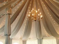 Drapes and Aisles decor
