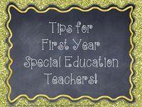 Teaching, new job, special education, new teachers