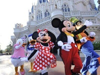 Disney Park Characters