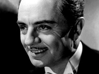 AKA William Horatio Powell. American actor.  Known primarily for the Thin Man series with Myrna Loy.  3 nominations for the Academy Award for Best Actor. Cause of death: Heart failure.
