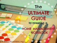 Organization: Home Management