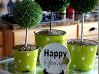Crafts - Topiary Trees
