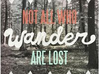 I can only truely find myself when I get lost