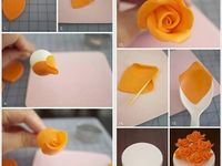 Cake decorations and desserts
