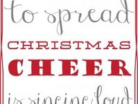 Christmas Printable Banners, Pictures,Posters and Signs (Most are Free)