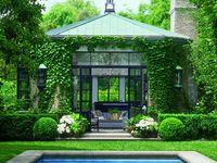 outdoor garden rooms/ landscape