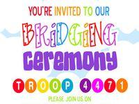 g.s. bridging ceremony