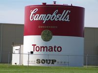 Water tower Campbell soup factory
