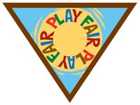 Brownie Girl Scout Fair Play Badge