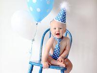E's 1st birthday photo shoot ideas