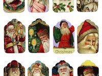 Christmas Printable Gift Tags & Tag Ideas/DIY's