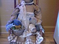 Old dolls and toys