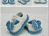 Crochet - Escarpines