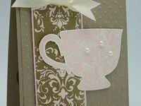 Cards - Coffee, Tea, Pots, & Cups