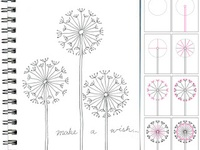How to draw a dandelion