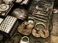 locks, keys and doors......