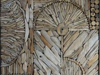 Driftwood is wood that has been washed onto a shore or beach of a sea, lake, or river by the action of winds, tides or waves. It is a form of marine debris or tidewrack.
