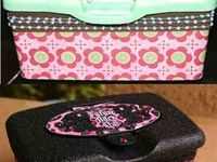 repurpose baby wipe container/formula containers