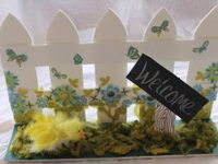 Picket Fence Decorations