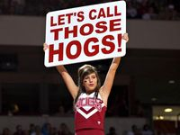 """""""Go Hogs"""" crafts and ideas"""