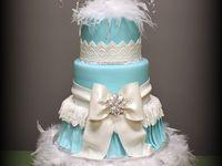 Sweet 16th birthday cake