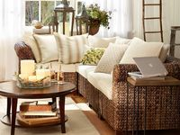 Ideas for how to make your house look like it was decorated by someone from Pottery Barn.