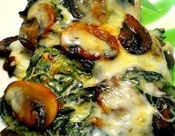Chicken recipes with spinach and mushroom