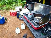 Camping RV Camper Trailer Outdoors Glamor + Camping Tent Camp Glamping Campfire Campfire Cooking Camping Ideas