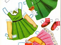 Paper dolls a look at history and fun