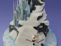 Frozen , cake,cupcakes and cookies