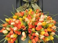 Wreaths, stuff to hang on doors