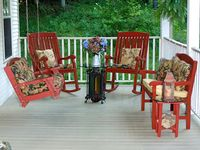 Lets sit on the porch, patio or deck & enjoy the company of each other.