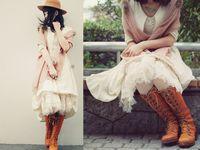 Fashion:  Mori etc
