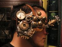 Steampunk takes elements of modern technology and antiquated mechanical parts and re-imagines them into devices and contraptions that look like they were created by Jules Verne or someone in the Victorian era.