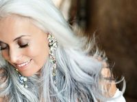 Be inspired to do something different. Grey, purple, pink, brown...every and any hair color