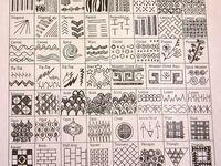 Art {Zentangle:Samples & Steps}