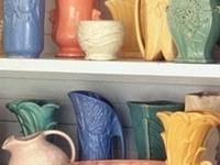 Collectable pottery and glass