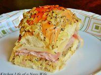 Kings Hawaiian sandwiches