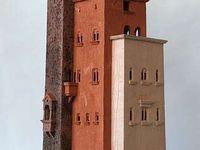 Architectural Sculpture--birdhouses, boxes, hand-built.