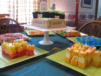 Ideas for Suse's Minecraft Party