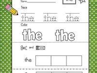 Kids crafts/preschool ideas