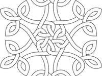 knots, runes, and symbols